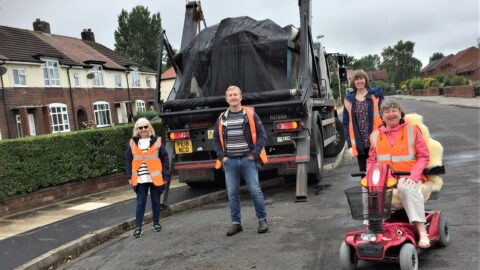Community skips help residents get rid of unwanted Covid clutter