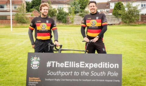 Southport Rugby Club launches 16,000km 'South Pole' Ellis Expedition in honour of Graham Ellis
