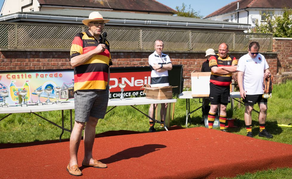 Southport Rugby Football Club President Graham Ellis