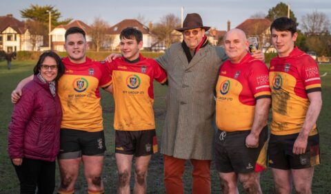 Graham Ellis inspires Southport Rugby Club to travel twice round the world and raise £26,000 for the NHS