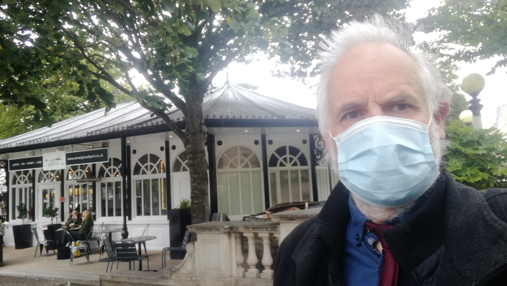 Southport councillor Tony Dawson is encouraging shoppers to wear face coverings or face masks in shops