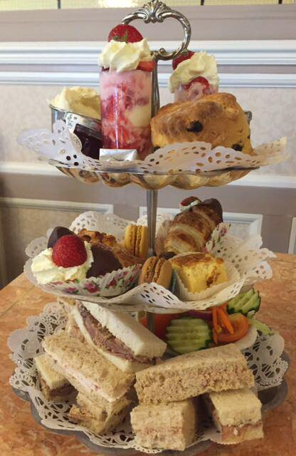 Afternoon Tea at Nostalgia Tea Rooms on Lord Street in Southport