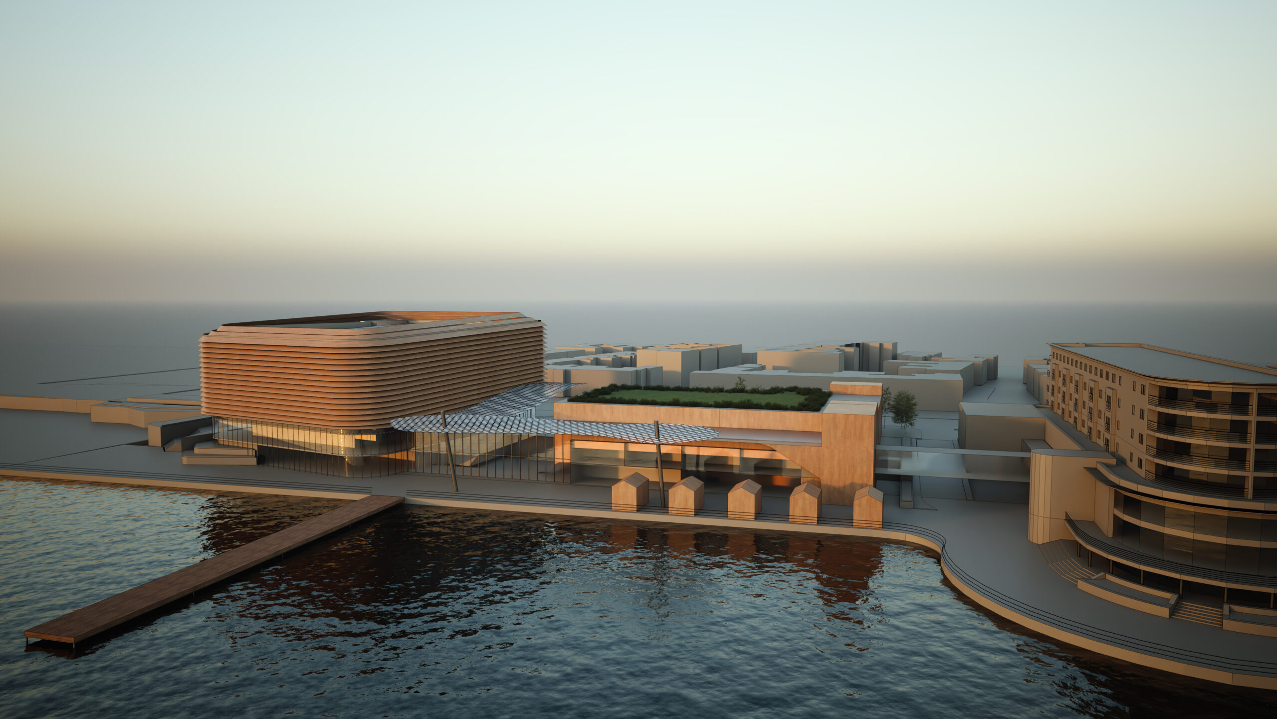 An artist's impression of how the new look Southport Theatre and Convention Centre would look