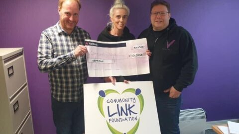 Southport firm donates £10,000 to Community Link Foundation charity to help local good causes