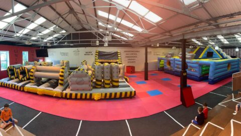 Brand new Inflatable Zone to open in Southport town centre