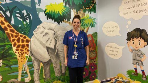 Ormskirk Hospital staff climb Mount Snowdon to raise money for Children's Ward