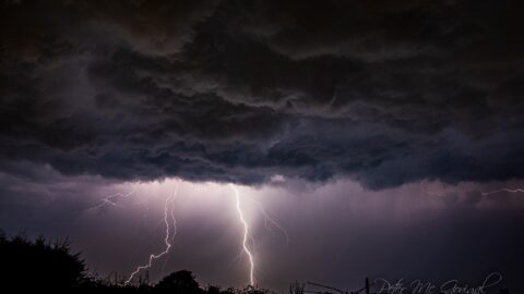 Spectacular 'Steven Spielberg' thunderstorm batters Southport with dramatic sheet lightning