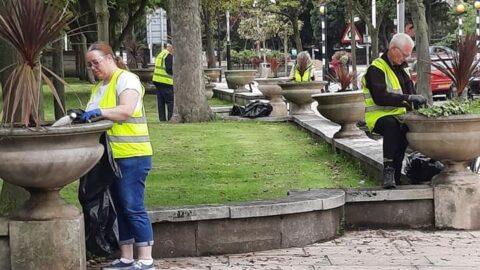 Volunteers leave Lord Street looking blooming brilliant – but they need your help