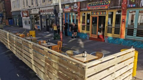 Southport's outdoor revolution aided by new 'parklets' to extend pavements and create new dining space