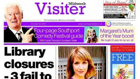 Reach plc announces permanent closure of the Midweek Visiter newspaper in Southport