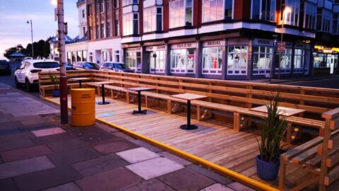 Southport businesses create new parklets to extend outdoor seating thanks to Sefton Council funding