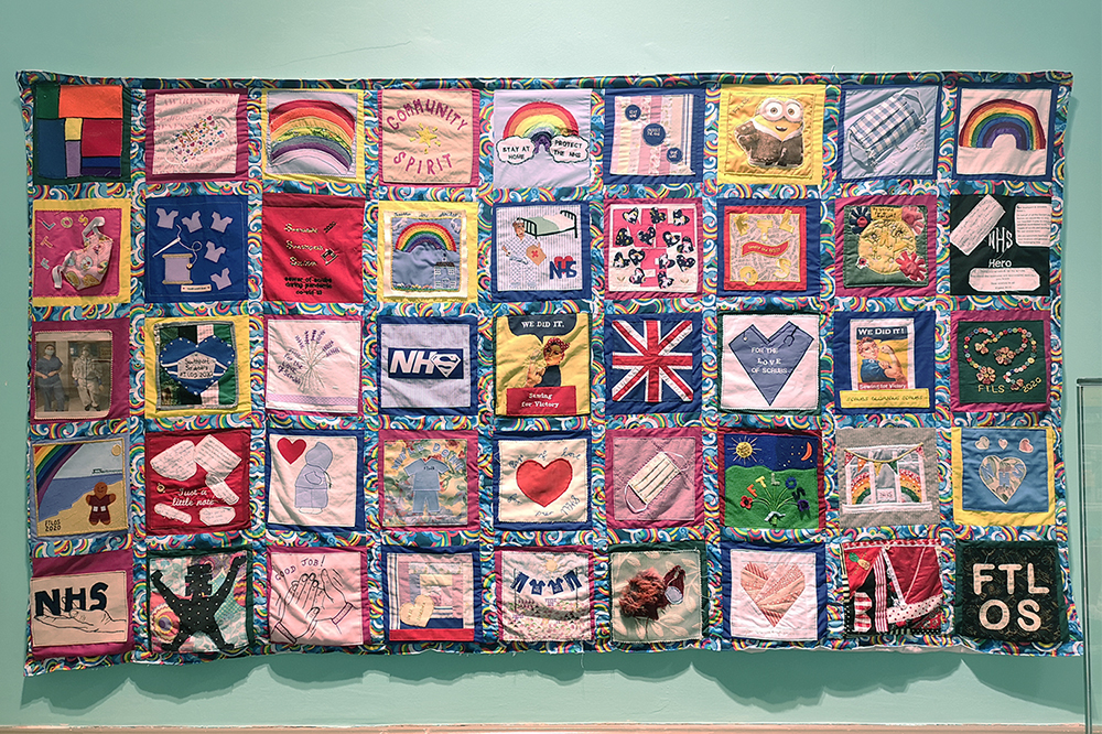 For The Love Of Scrubs is being celebrated with a special quilt exhibition at The Atkinson in Southport