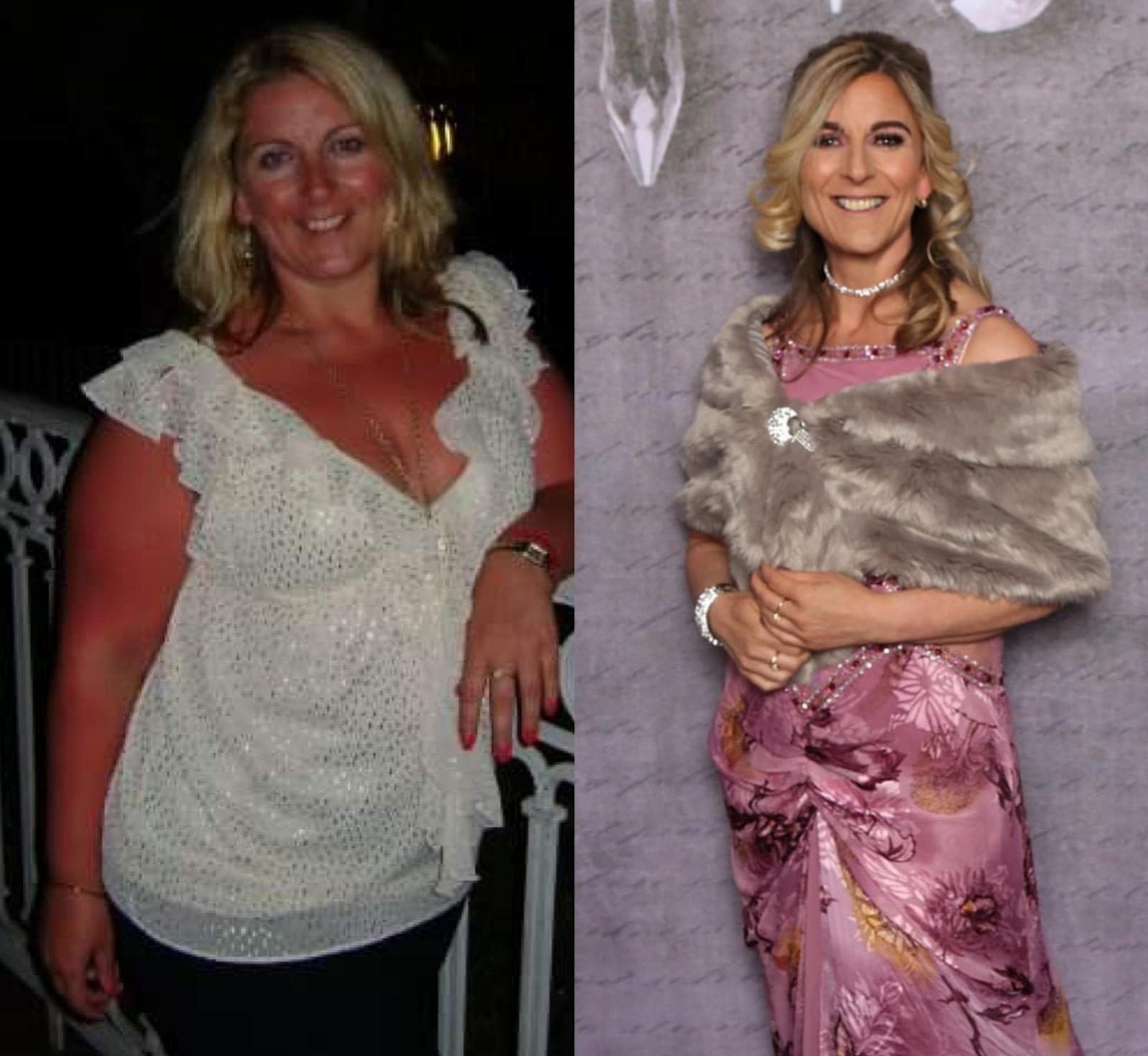 Southport Slimming World consultant Dee Wright, before and after her weight loss transformation