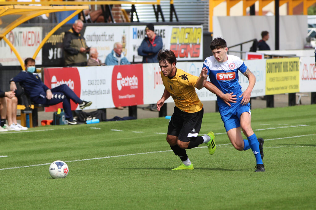 Southport FC in action