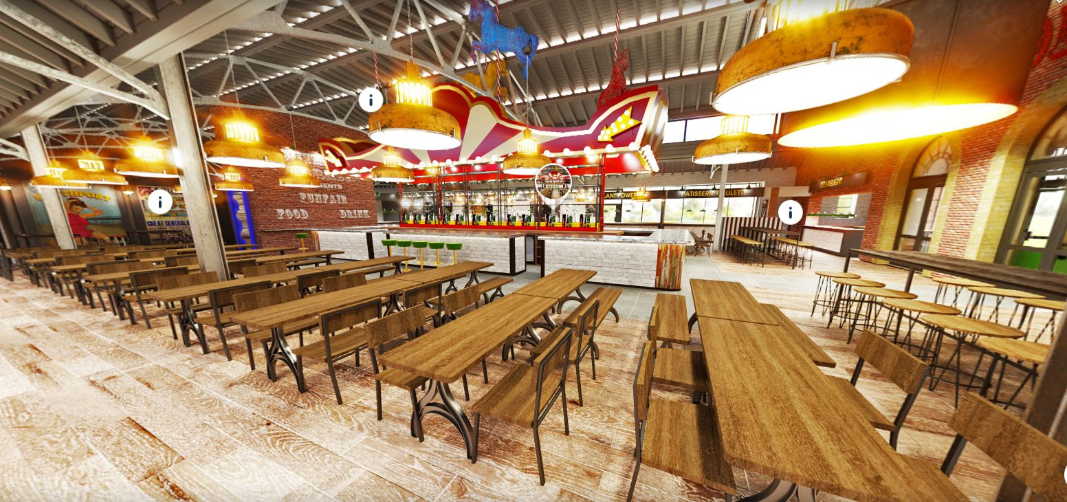 An artist's impression of how the new Southport Market would look