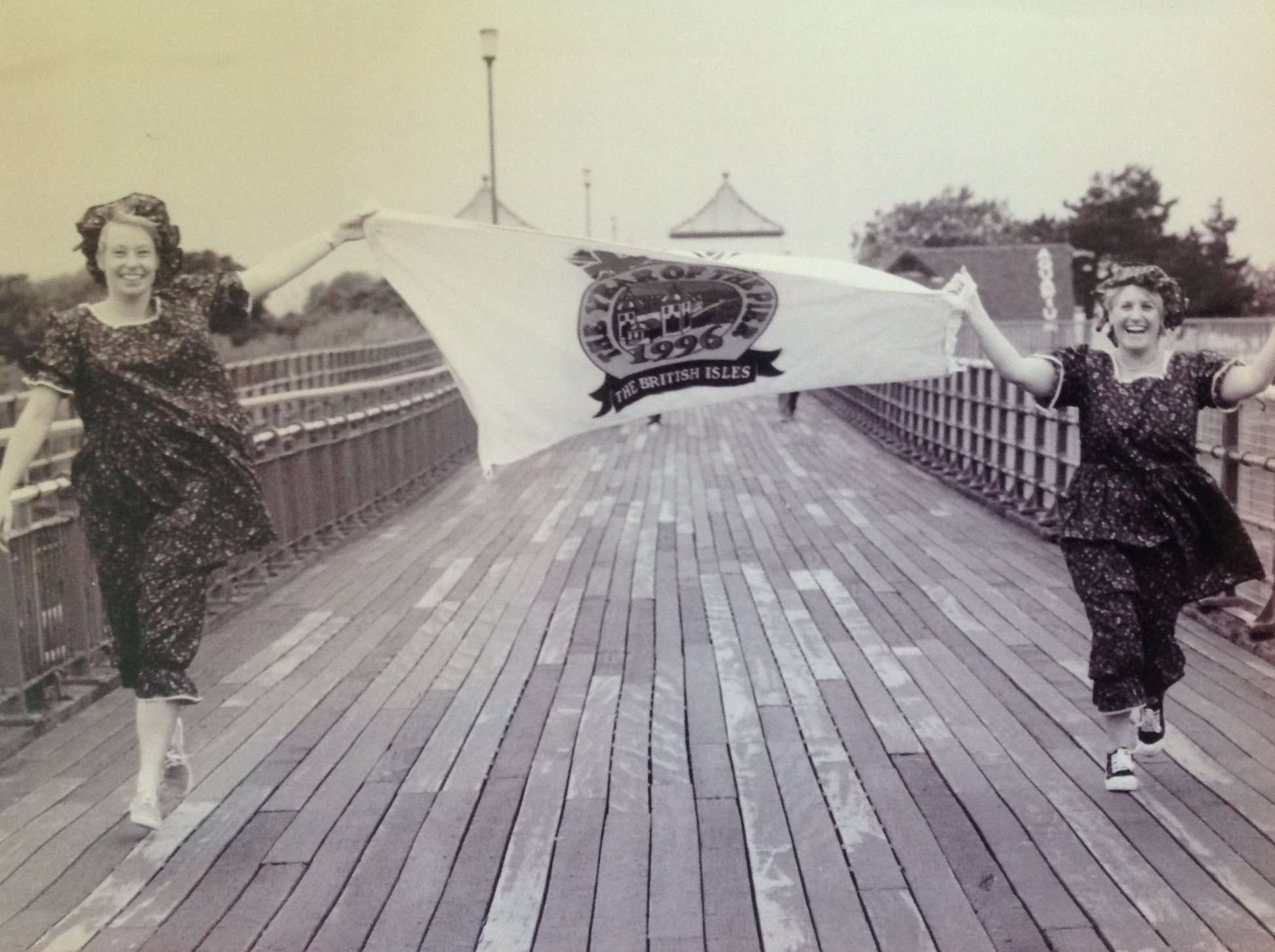 Southport Pier celebrates The Year Of The Pier in 1996