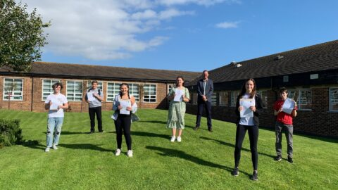 Stanley High School pupils celebrate GCSE results as headteacher reveals his pride at Class of 2020