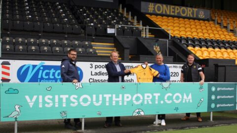 Visit Southport unveil new partnership with Southport FC to market resort to football fans