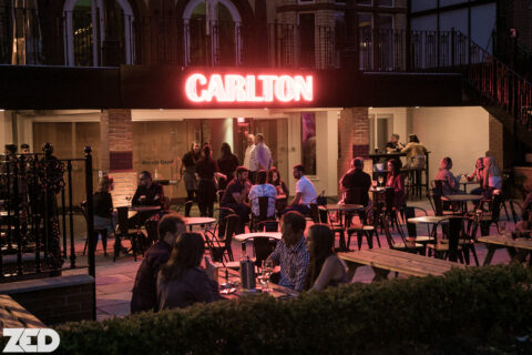 The Carlton bar in Southport is back with pictures from busy opening week
