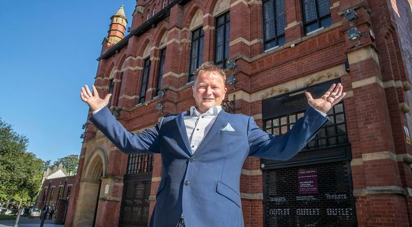 Matthew Townson of Techedia has announced his £1m plan to redevelop The Cloisters building in Southport