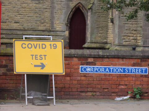 Sefton Council opens two new Covid-19 walk-through testing sites