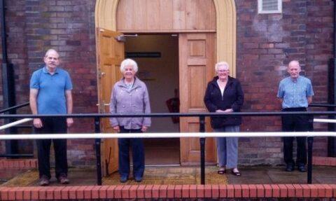 Crossens Community Association donates £1,000 to Queenscourt Hospice