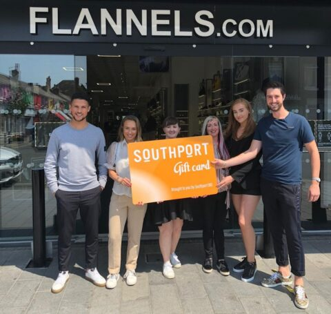 Flannels: 'New Southport Gift Card is a great way of supporting our local businesses'