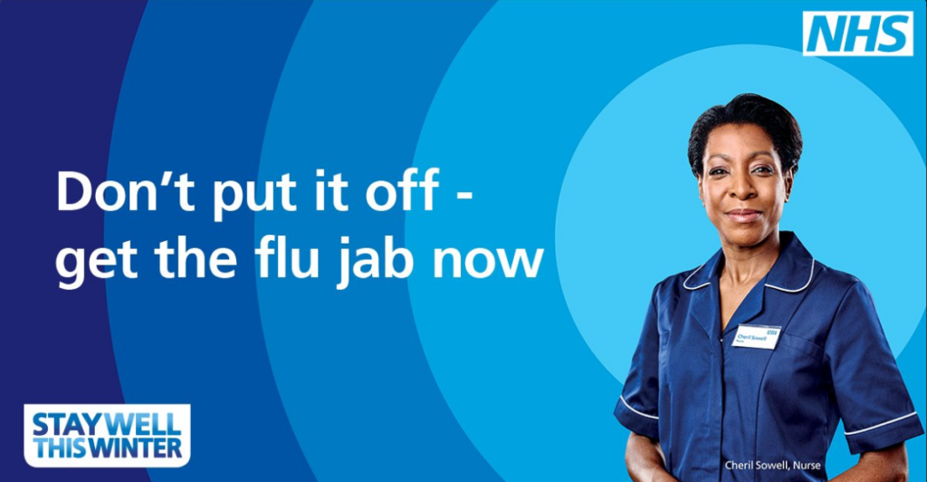 People are urged to get their flu jab this Winter