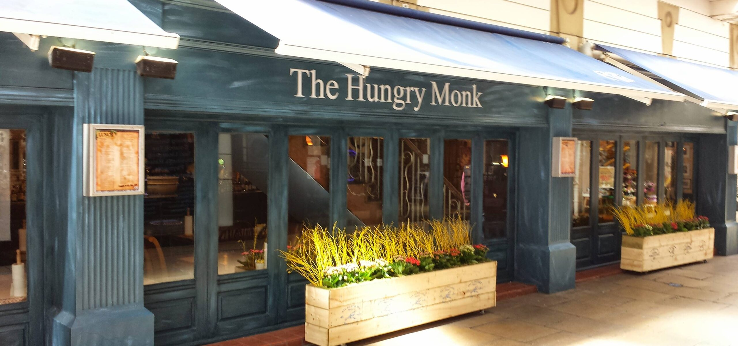 The Hungry Monk ale house and kitchen in Southport