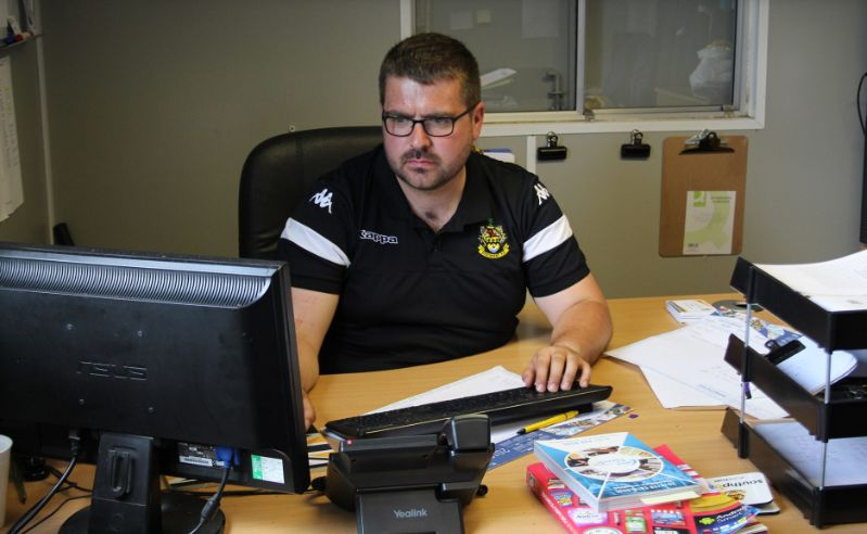Southport FC Head Of Operations James Tedford
