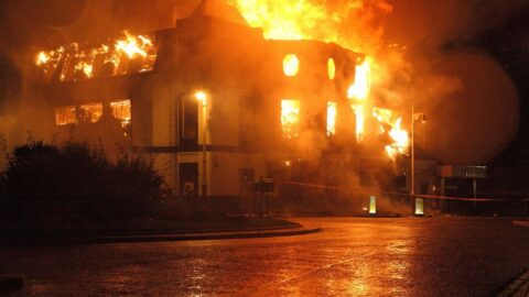 Nostalgia: Horror as The Kingsway nightclub in Southport burned down 10 years ago today