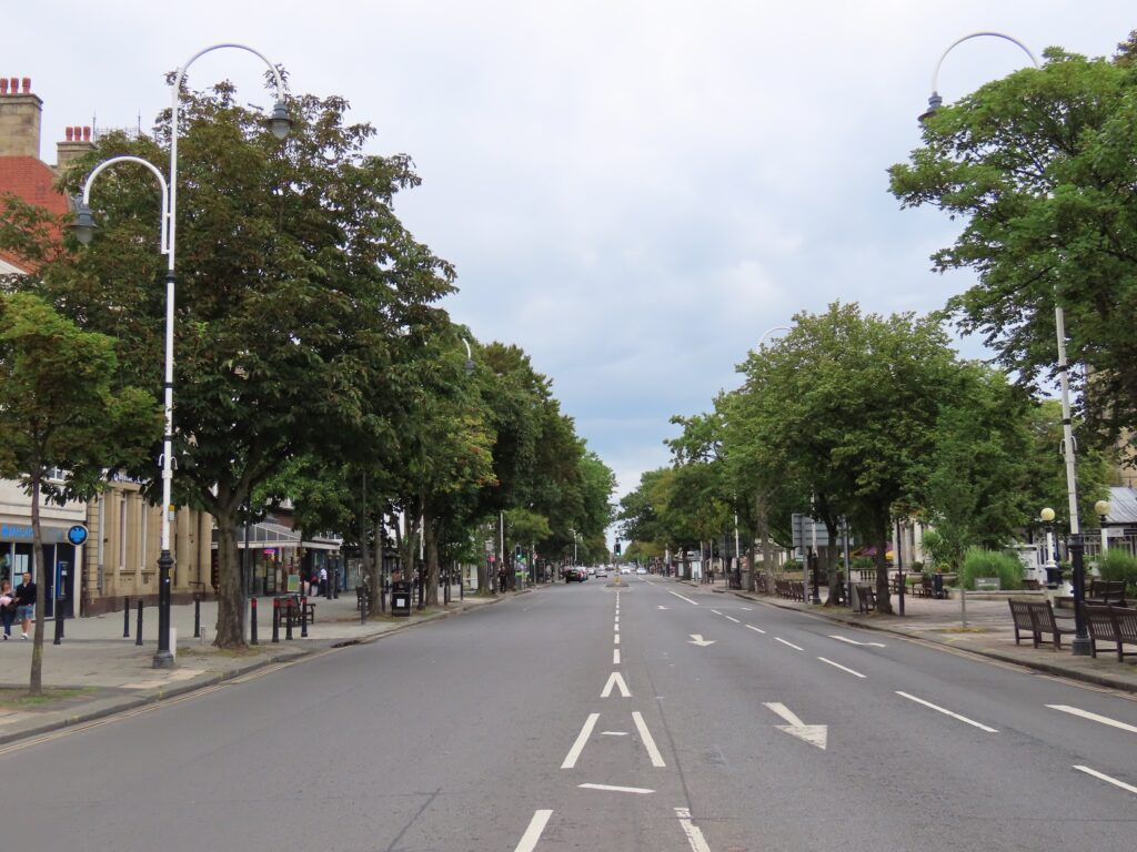 Lord Street in Southport. Photo by Andrew Brown Media