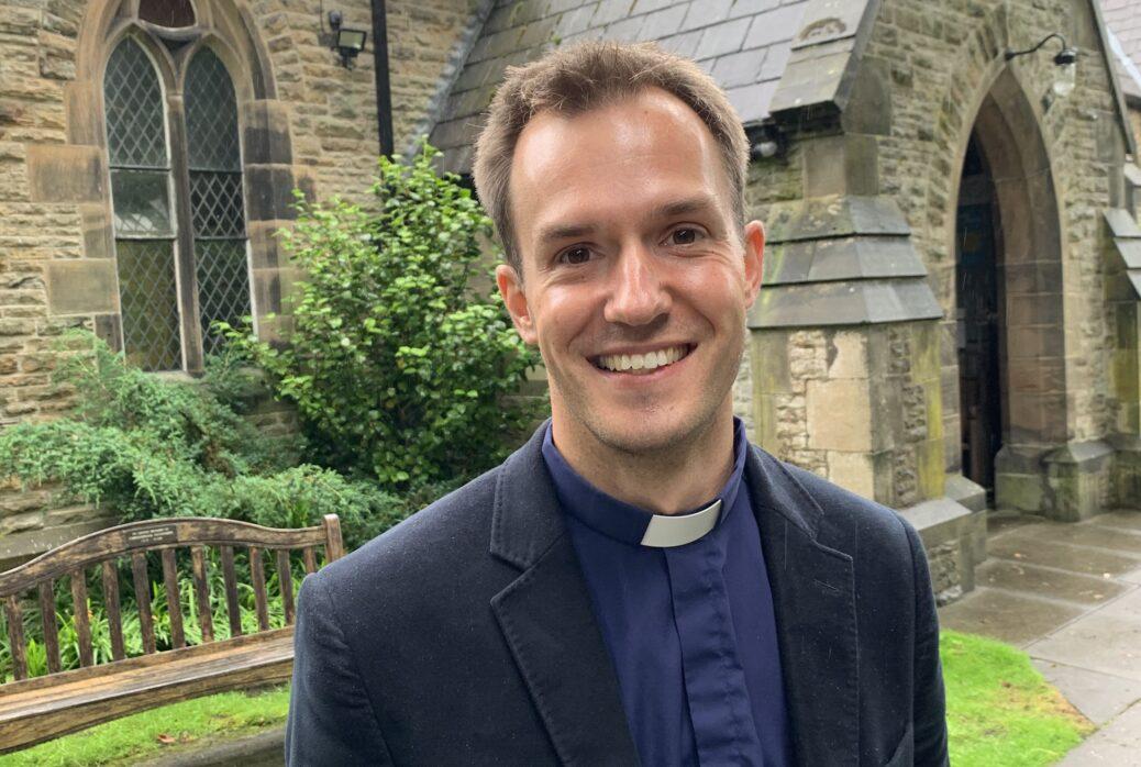 New Vicar at St Luke's Church in Formby, Rev Dr Matt Davis