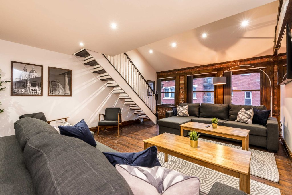 Prestige Stay is converting the former BHS building on Chapel Street in Southport. This image shows the inside of one of the firm's properties in Liverpool.
