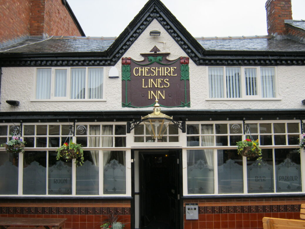 The Cheshire Lines pub on King Street in Southport