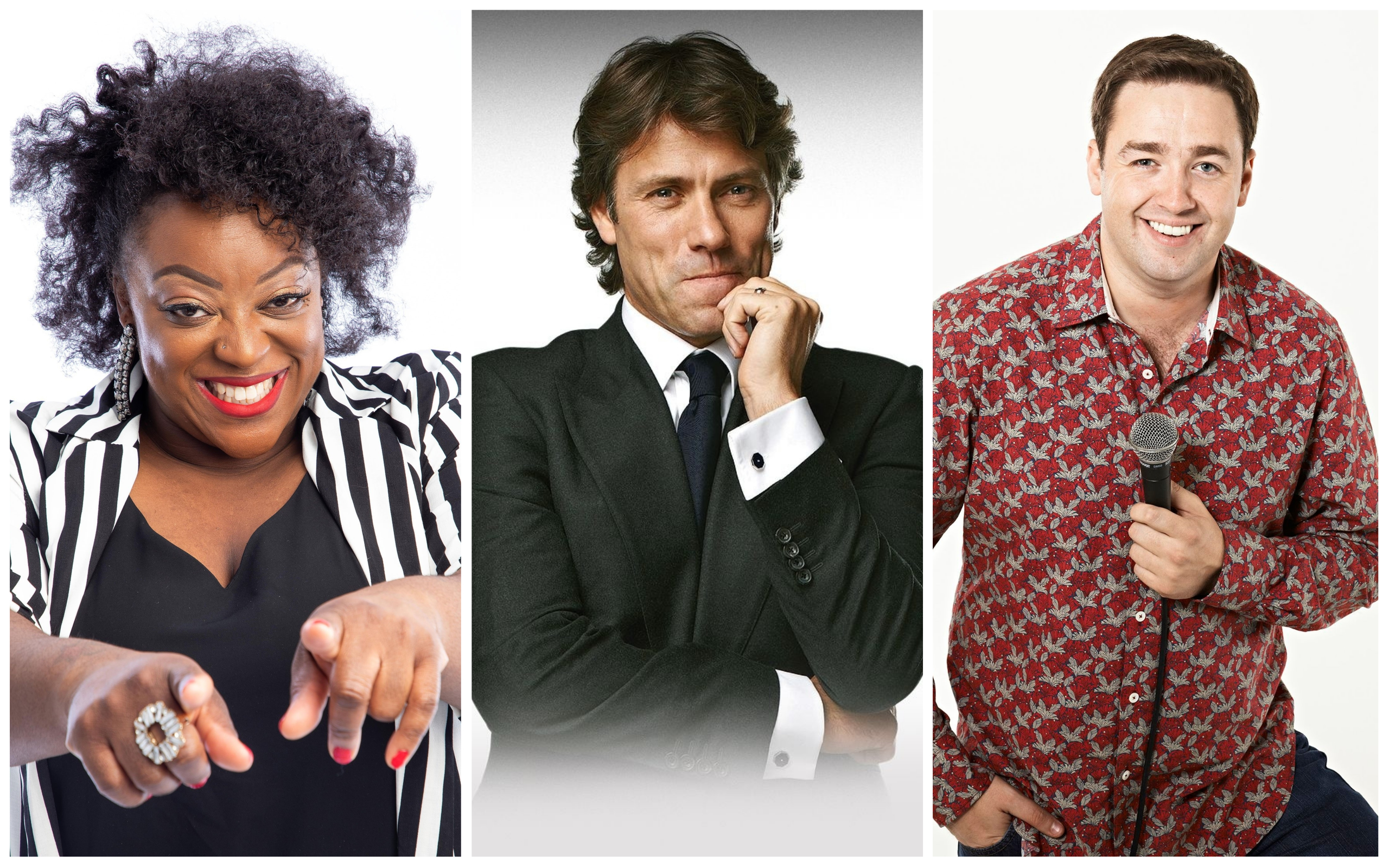Judi Love, John Bishop and Jason Manford will star at Comedy In The Park 2021 at Victoria Park in Southport