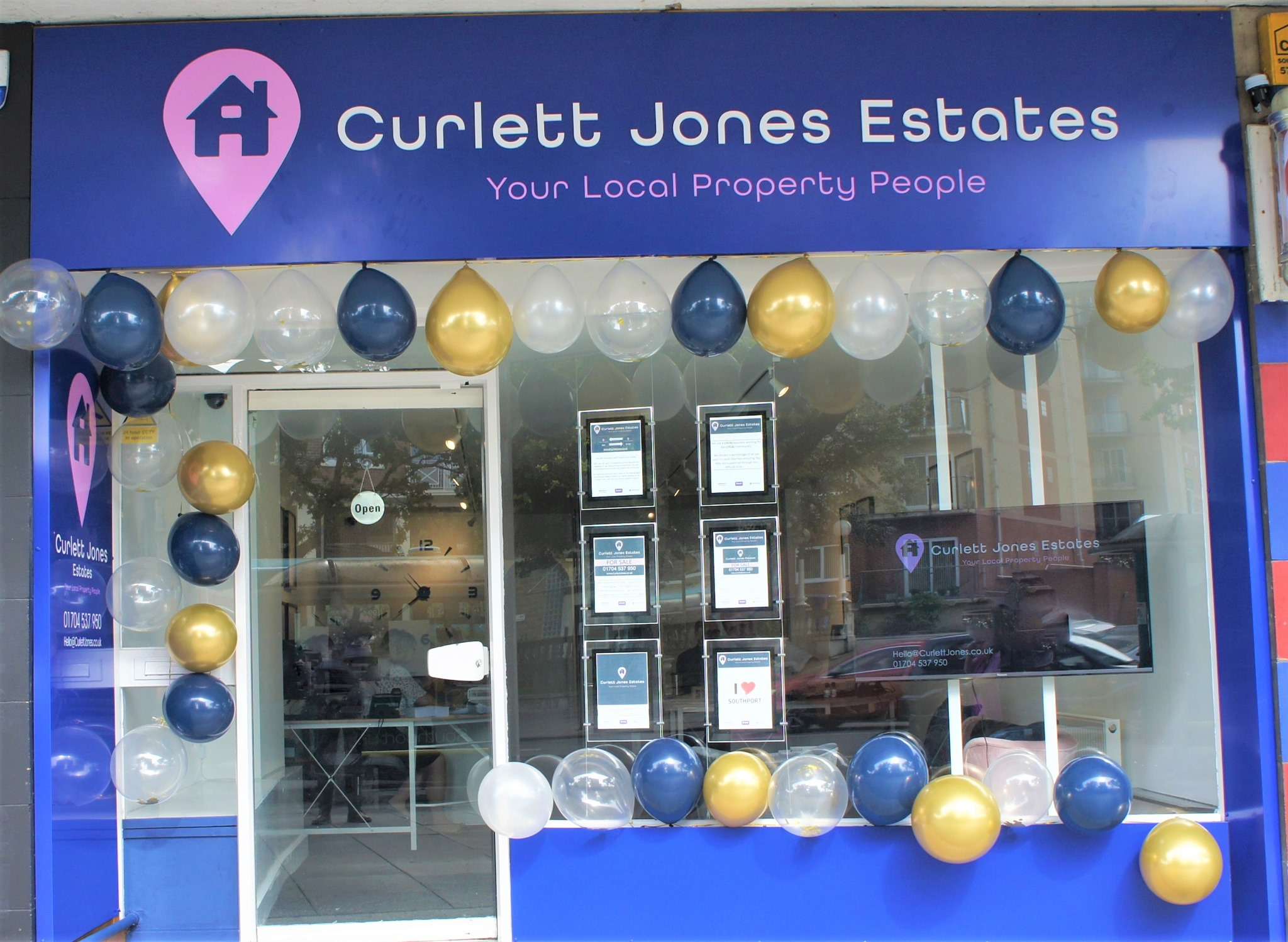 Curlett Jones Estates is situated at 653 Lord Street, Southport
