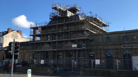 Southport's historic Victoria building undergoing vital restoration work
