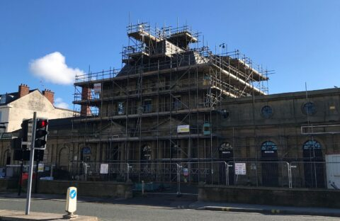 Southport's historic Victoria building undergoing vital restoration work