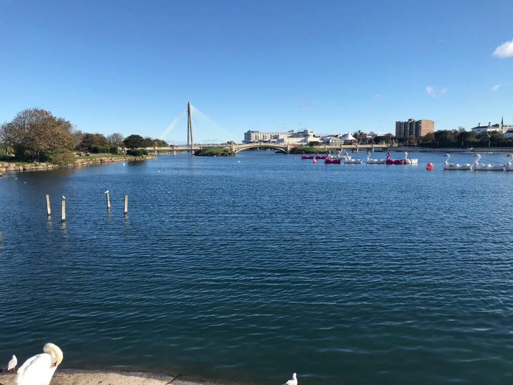 The Marine Lake in Southport. Photo by Andrew Brown Media