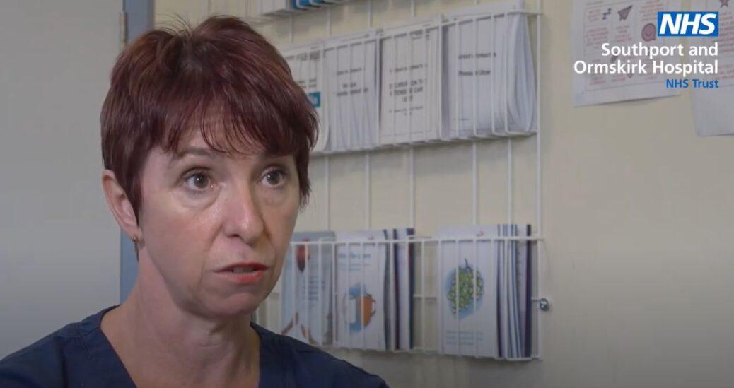 Southport Hospital clinical educator Mel Pinnington