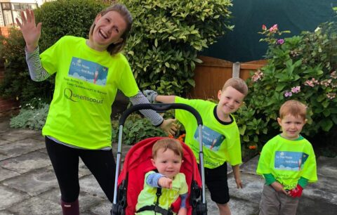 Queenscourt supporters rise To The Moon And Back to raise £12,000 for hospice