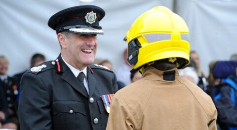 Merseyside Fire & Rescue Chief Phil Garrigan earns OBE in Queen's Birthday Honours
