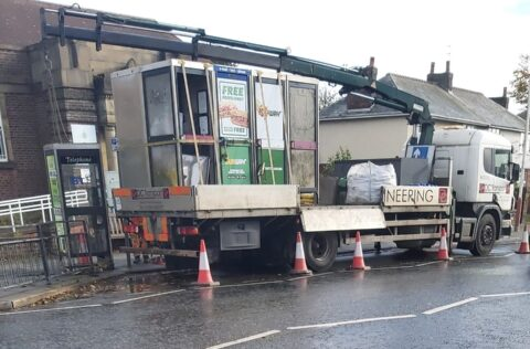 Disused phone boxes in Southport removed after falling into poor state
