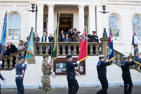 Remembrance Services in Sefton to be held online while wreaths are laid at war memorials