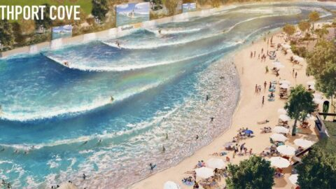 £40m Southport Cove Resort will create 120 jobs with surf wave pool, beach and boardwalk
