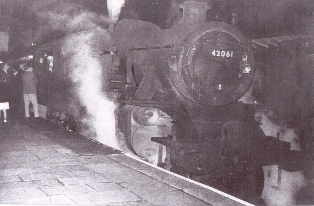 End of the line - Preston Railway Station, on the last service to Southport on Sunday September 6th 1964. Photo courtesy of Keith Hick