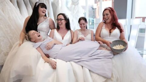 Wedding dress boutique to feature on BBC News over new Tier Three rules for businesses