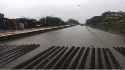 Torrential rain blocks Southport to Manchester rail line with Northern services affected