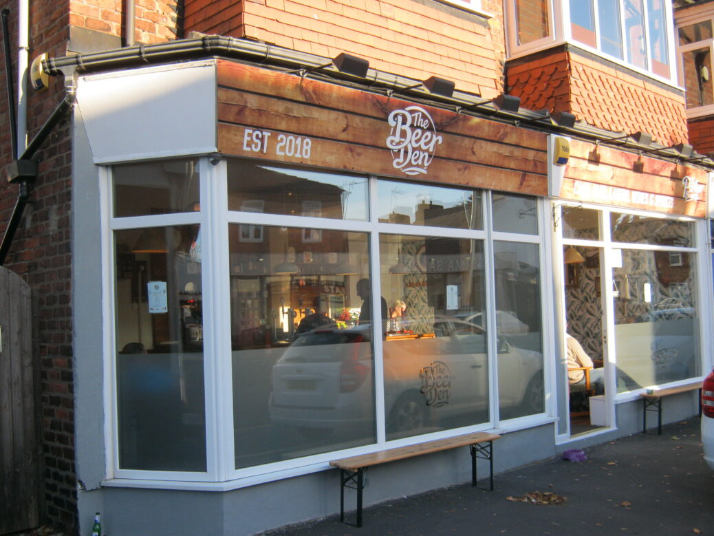 The Beer Den micropub in Southport